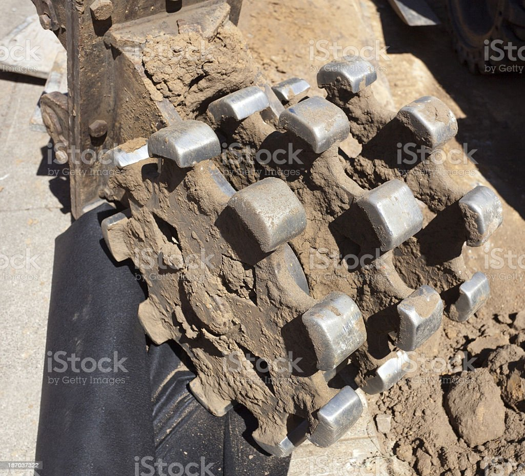 Milling Machine Roller royalty-free stock photo