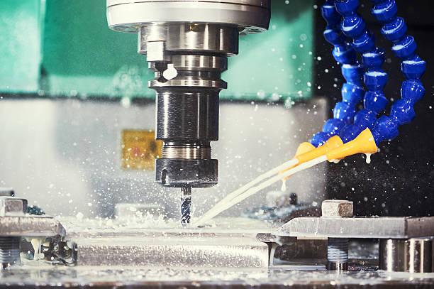 Fraisage ferronnerie processus. CNC