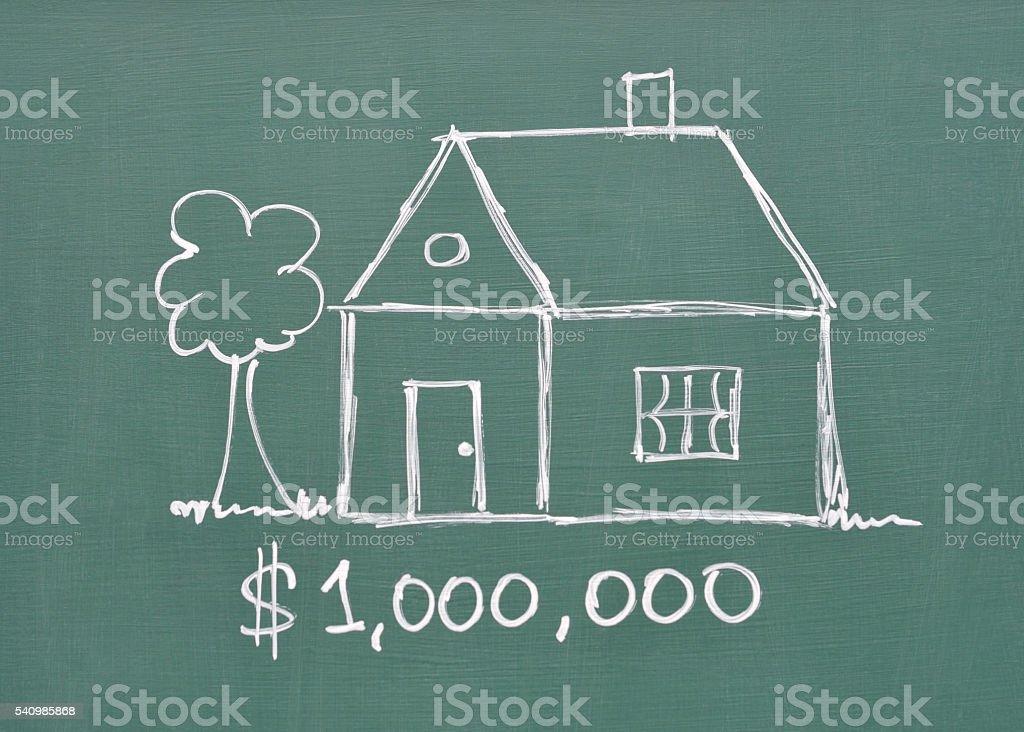 Millones de dólares en su hogar - foto de stock