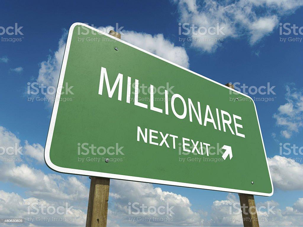millionaire stock photo