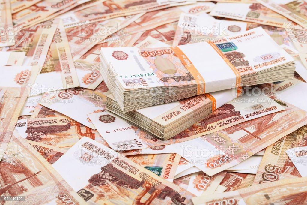 Millones de rublos - foto de stock