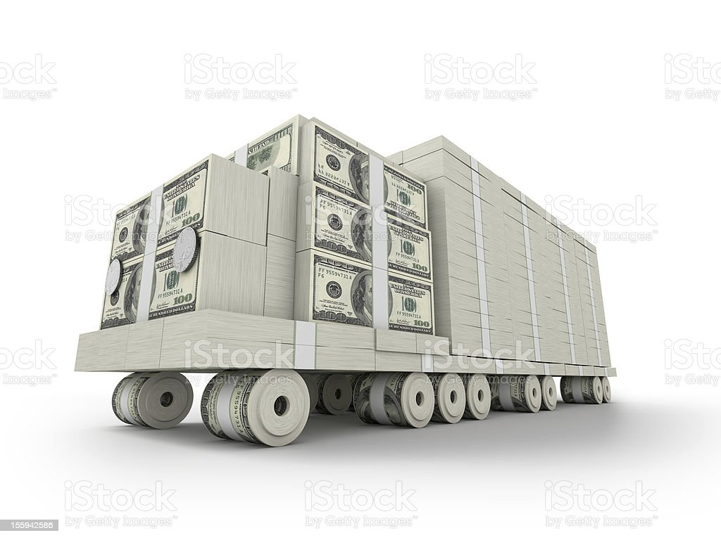Millon Truck royalty-free stock photo