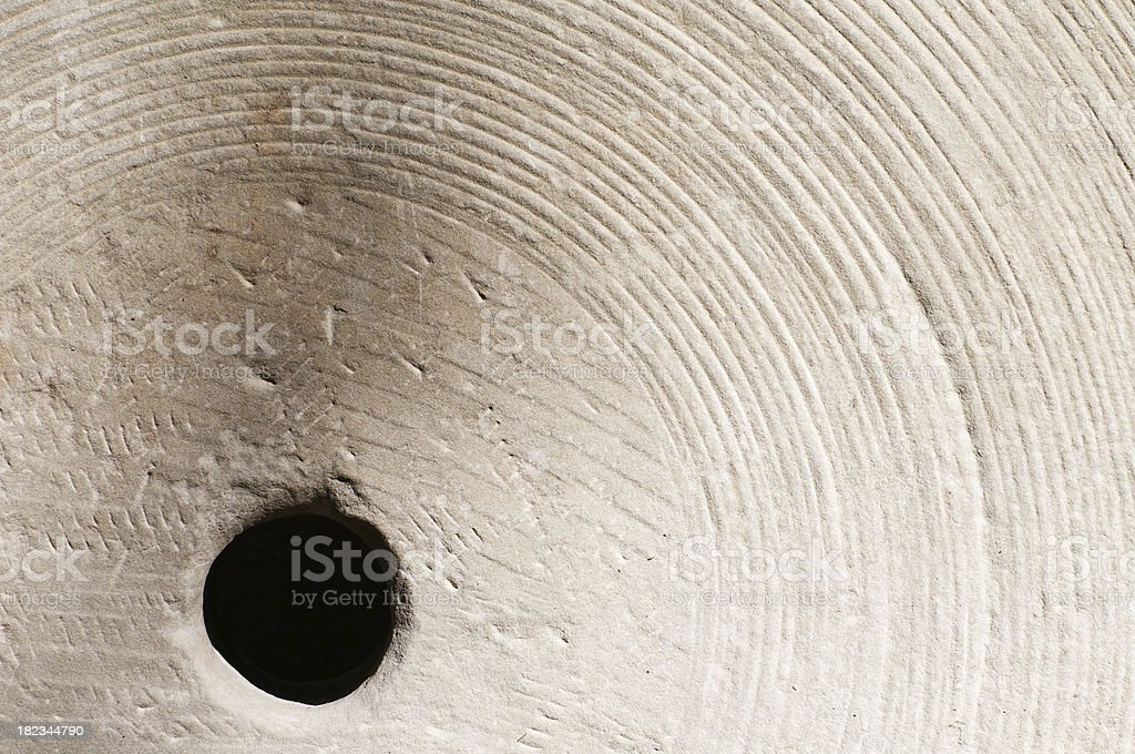 Millstone Detail stock photo