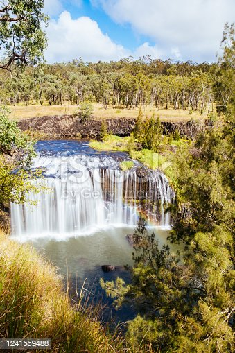 The famous Millstream Falls National Park in the Atherton Tablelands area of Queensland, Australia