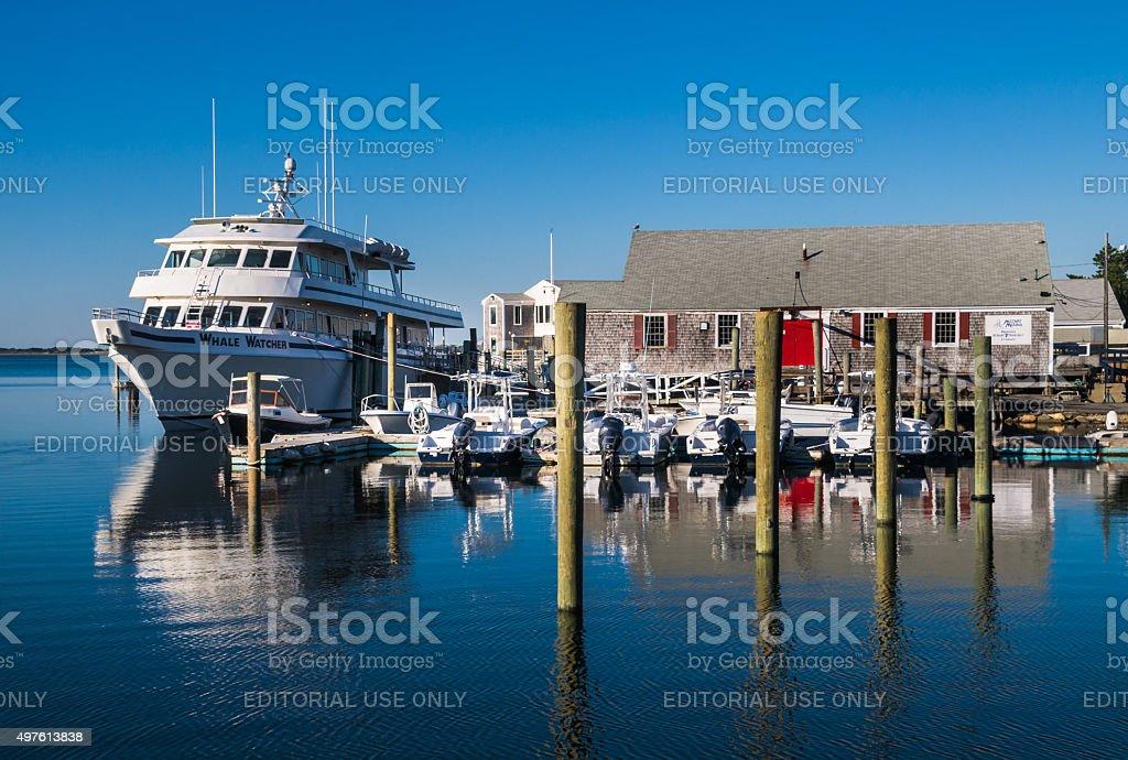 Millway Marina stock photo