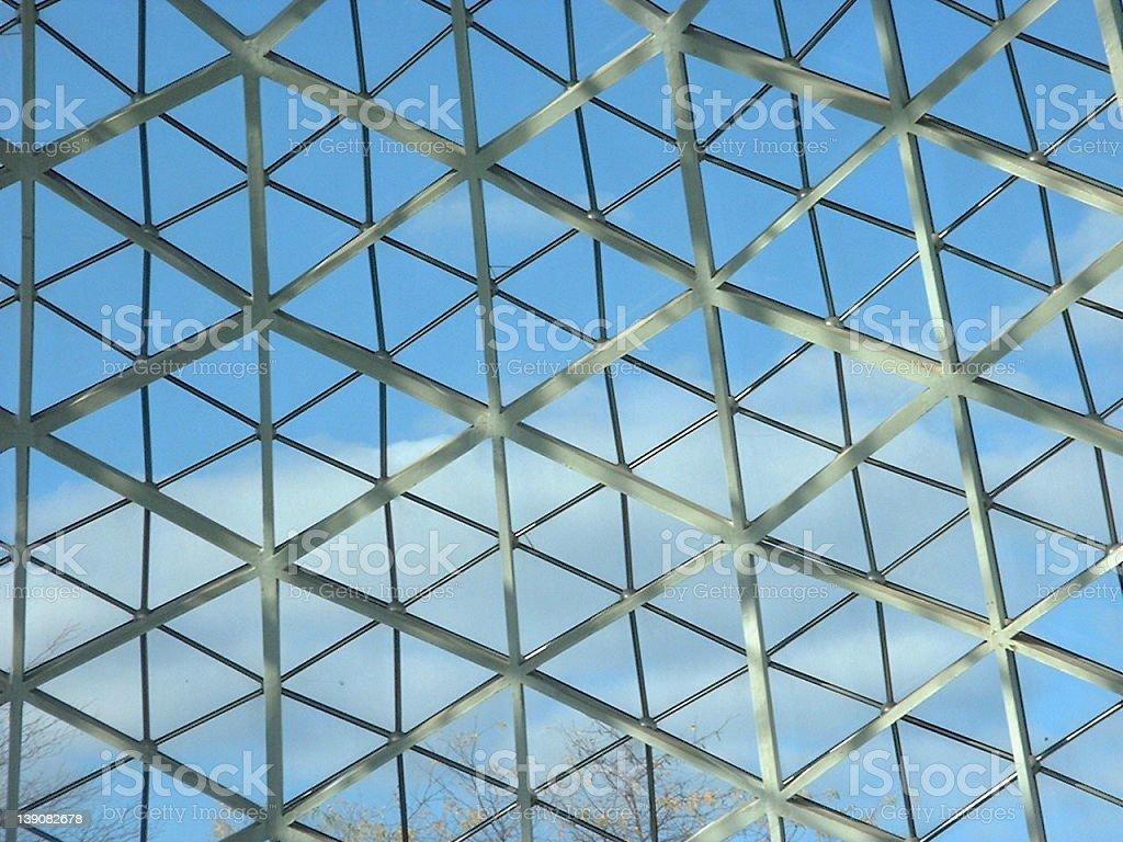 Milwaukee Botanical Garden Dome2 royalty-free stock photo