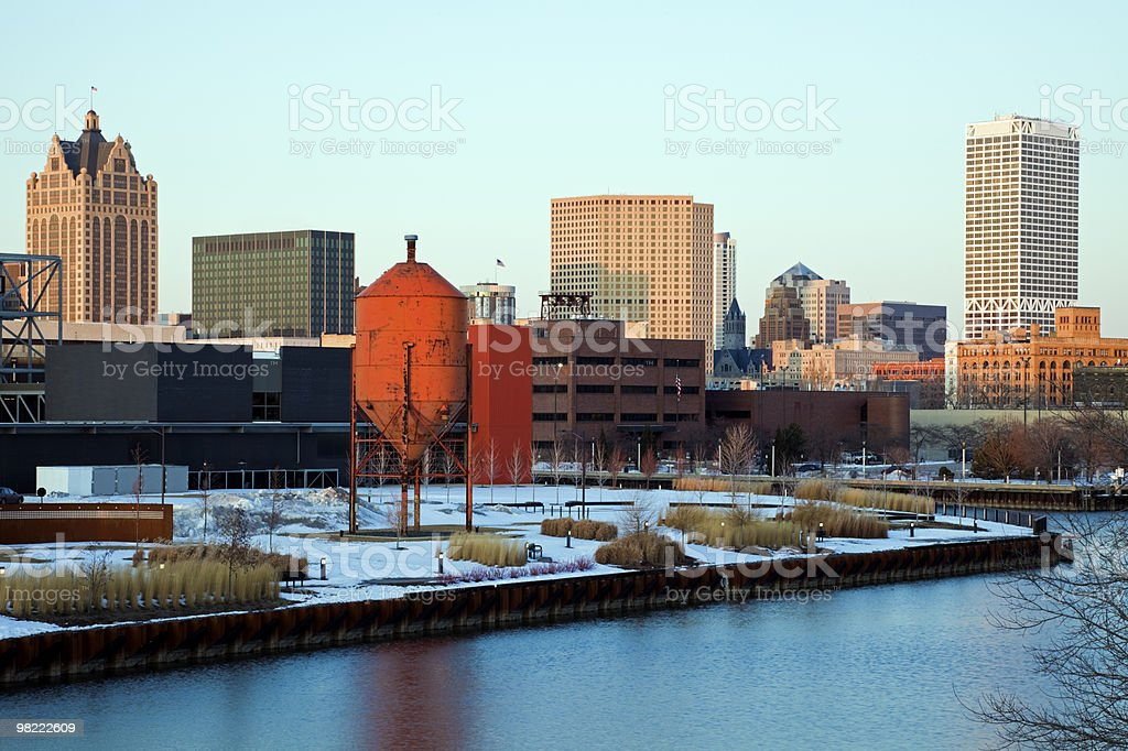 Milwaukee foto stock royalty-free