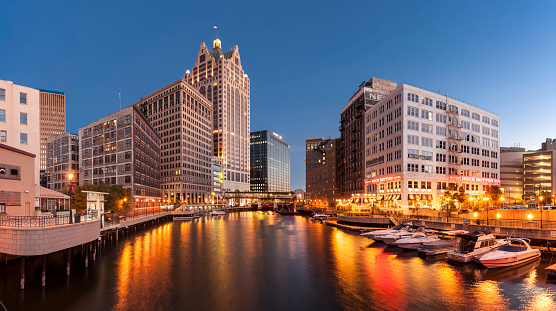 Milwaukee River Stock Photo - Download Image Now