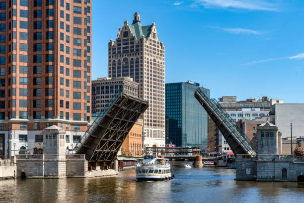 Milwaukee Wisconsin stock photo
