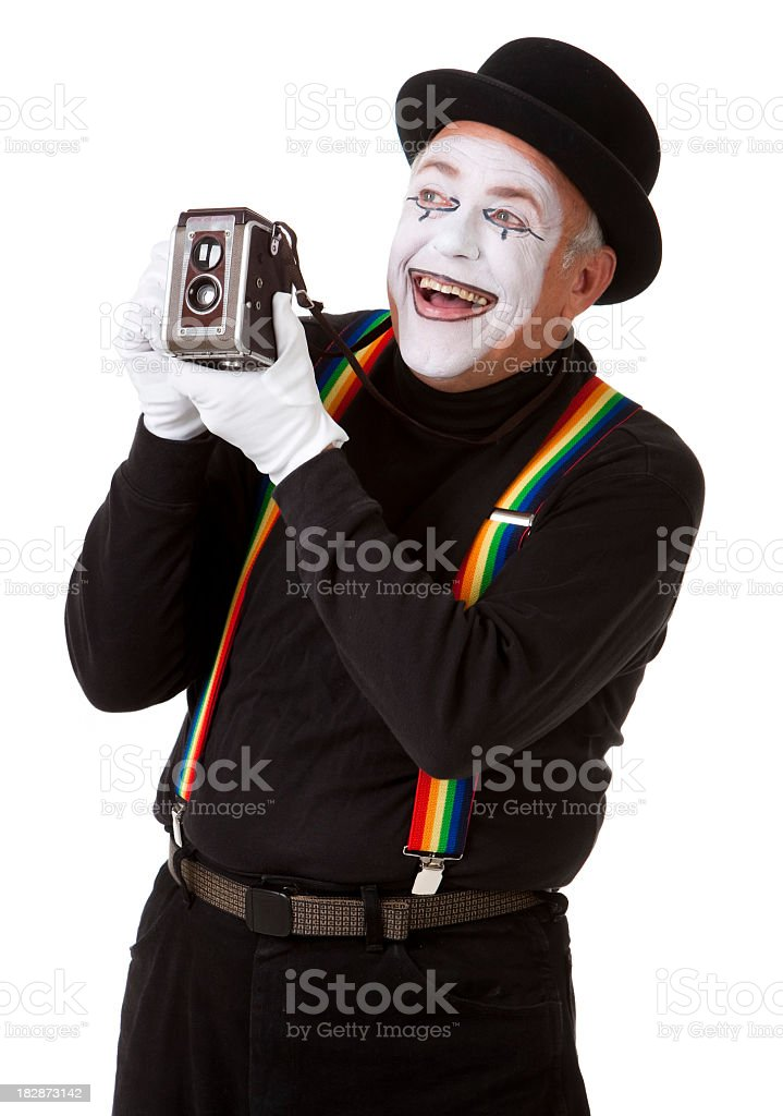 Mime-Photographer – Foto