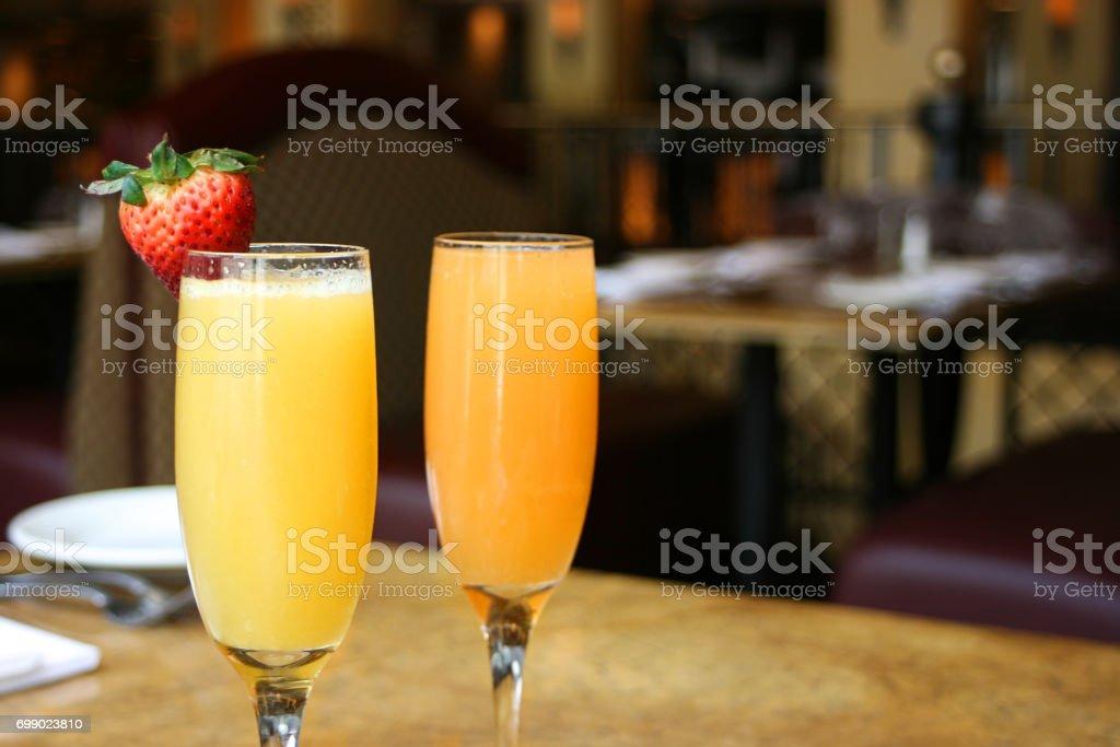 Mimosas stock photo