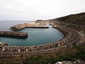Minami-daito fishing port(Okinawa, Japan)