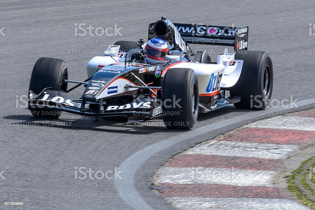 Minardi Formula 1 race car stock photo