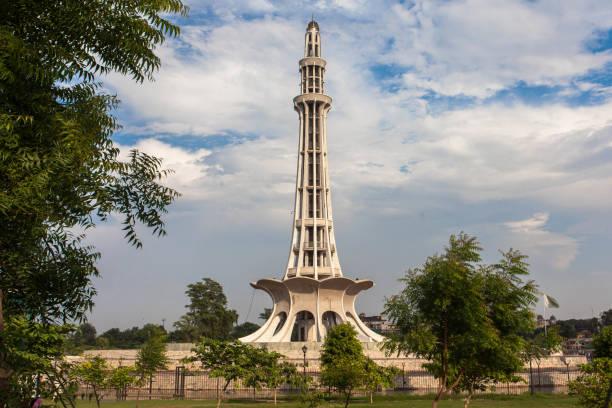 Minar-e-Pakistan symbol of Pakistan Beautiful view of Minar-e-Pakistan also know as symbol of Pakistan. lahore pakistan stock pictures, royalty-free photos & images