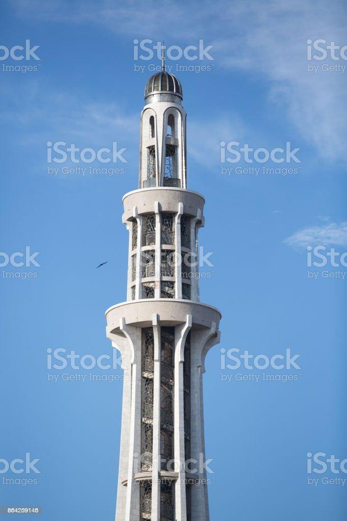 Minar-e-Pakistan - Tower of Pakistan monument closeup royalty-free stock photo