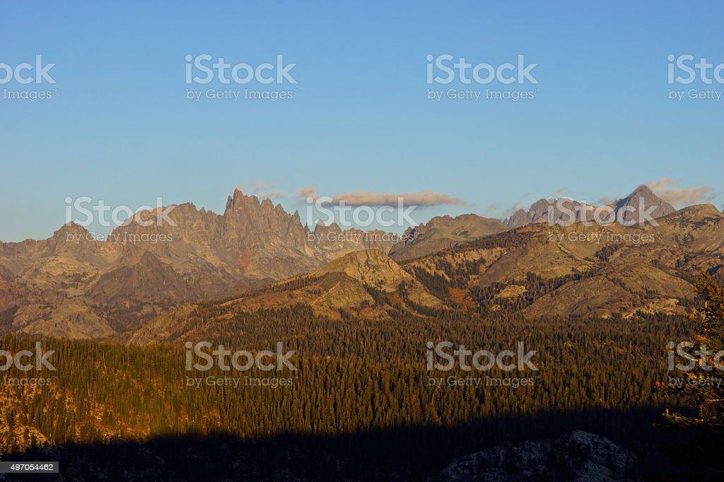 Minaret Morning stock photo