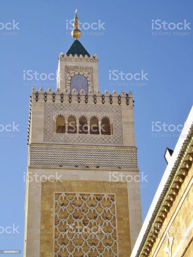 Minaret Of The Alzaytuna Mosque In The Medina Of Tunis Tunisia Stock Photo Download Image Now Istock