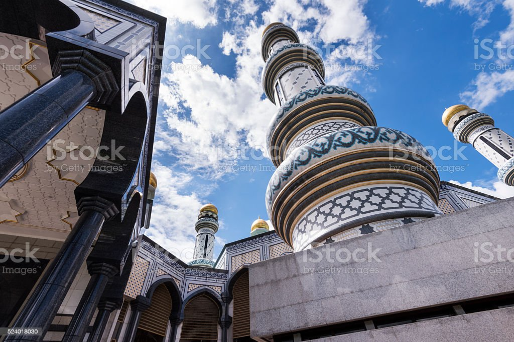 Minaret stock photo