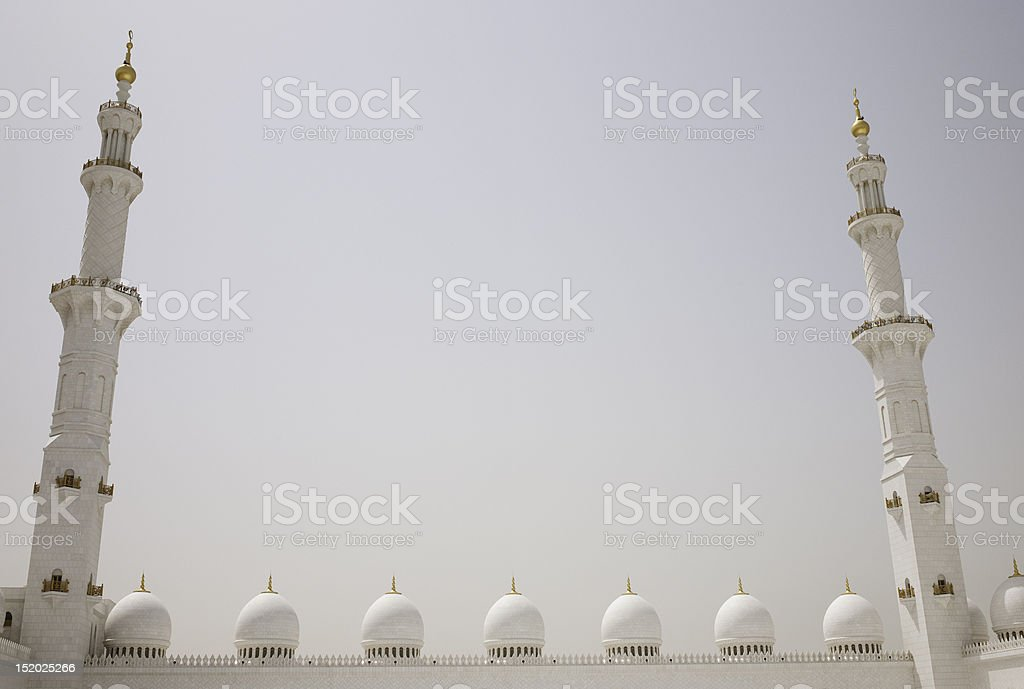 Minarets royalty-free stock photo