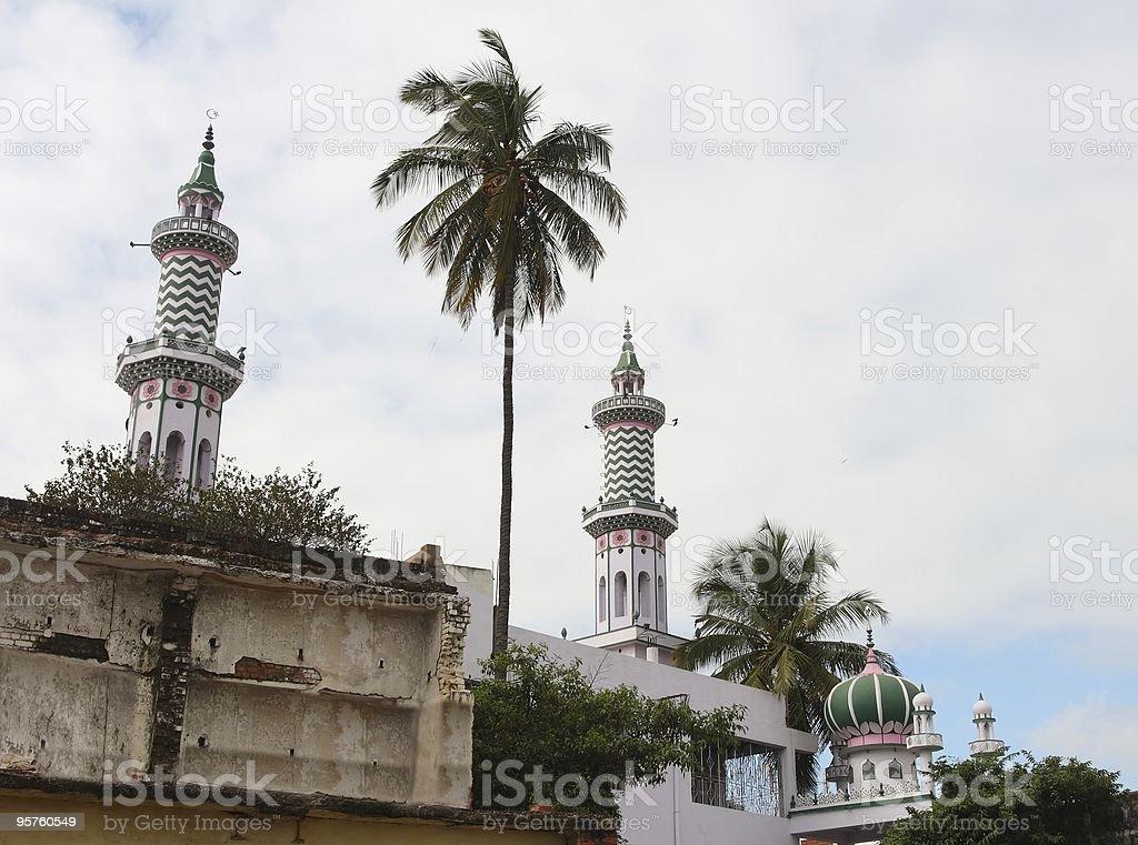 Minarets royalty-free stock photo