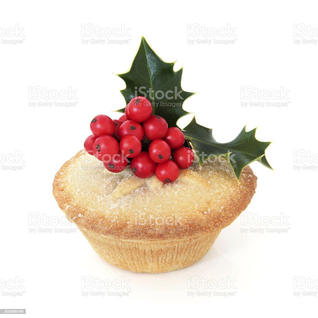 Mince Pie stock photo