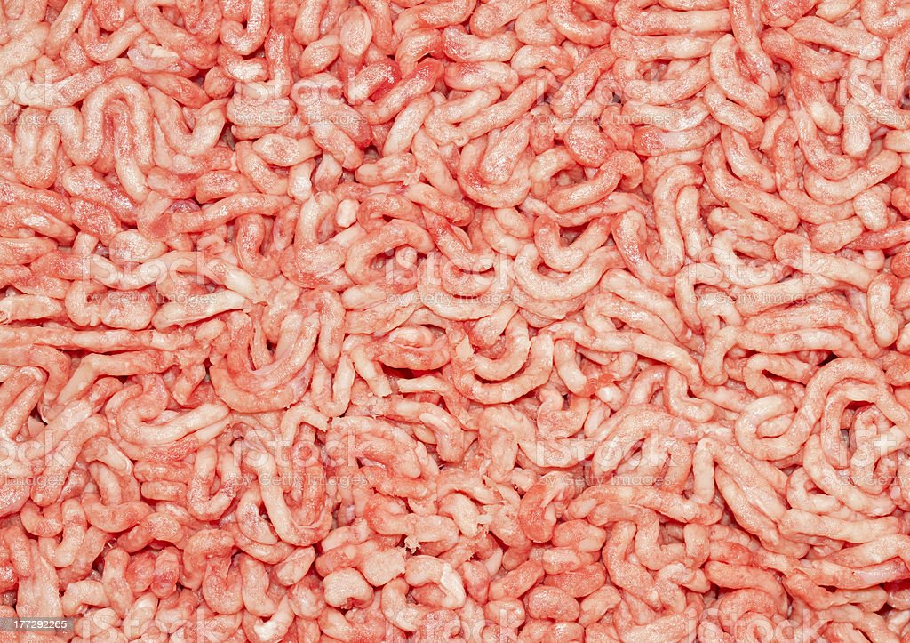 Minced beef royalty-free stock photo