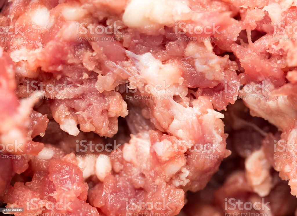 minced meat as a background. macro stock photo
