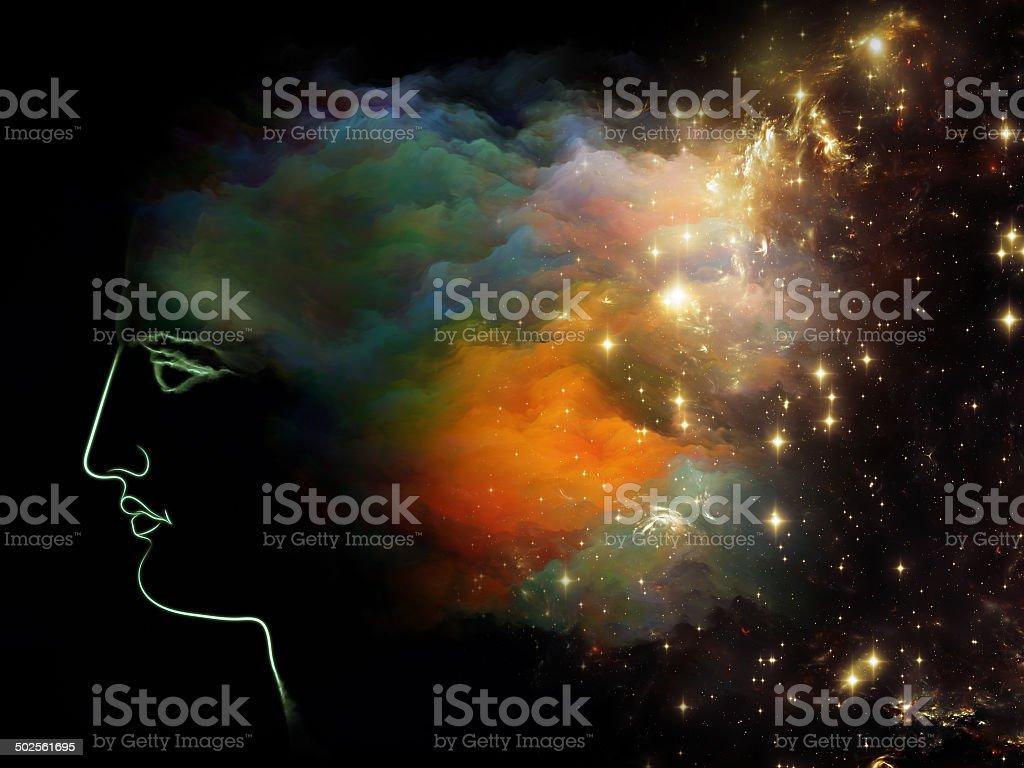 Mind Cloud stock photo