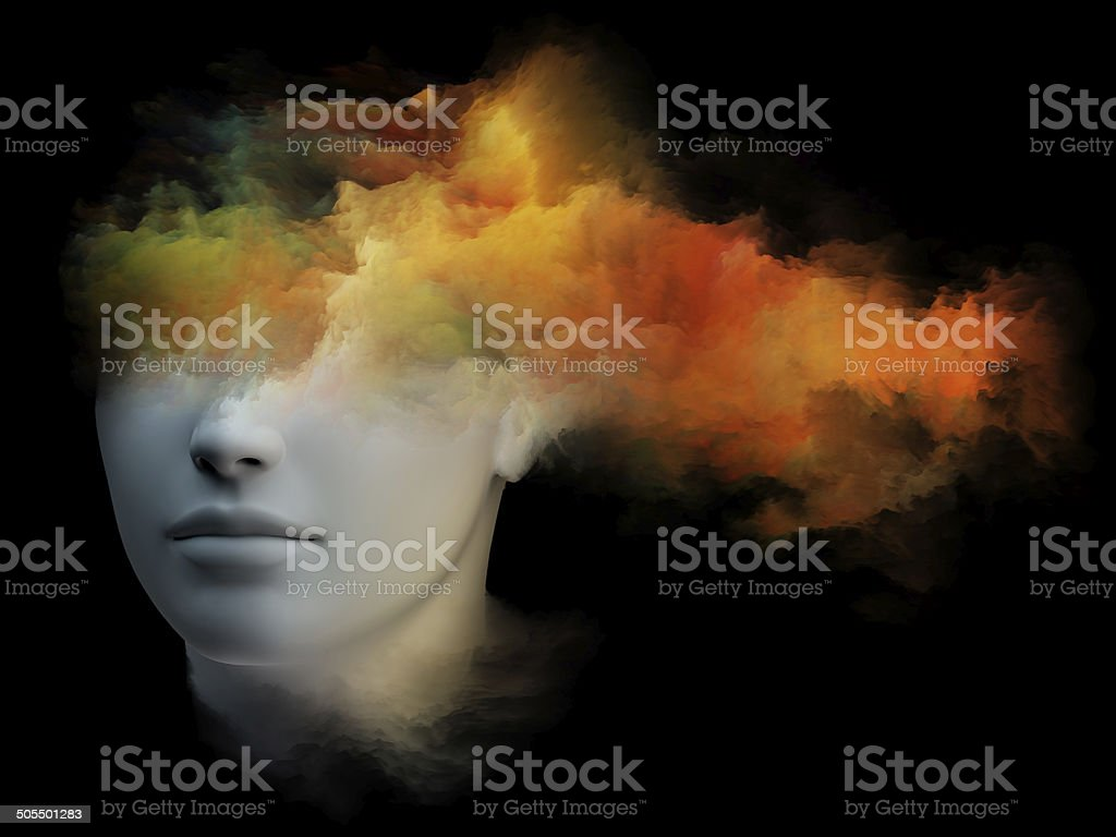 Mind Colors stock photo