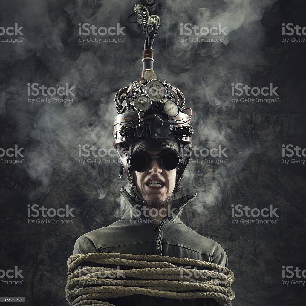 mind control stock photo