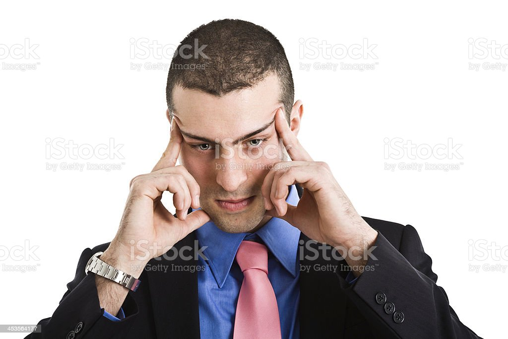 Mind focus stock photo