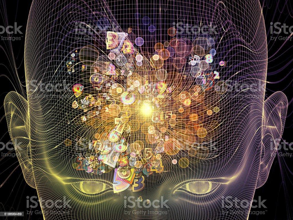 Mind Mechanism stock photo