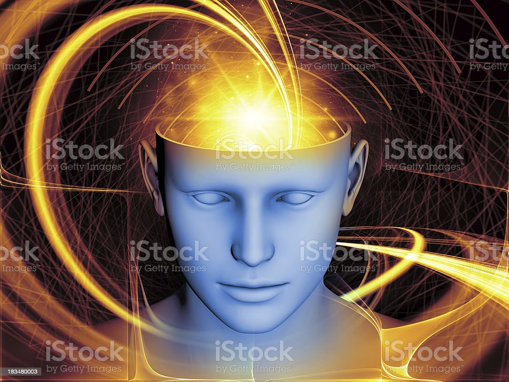 Mind Metaphor royalty-free stock photo