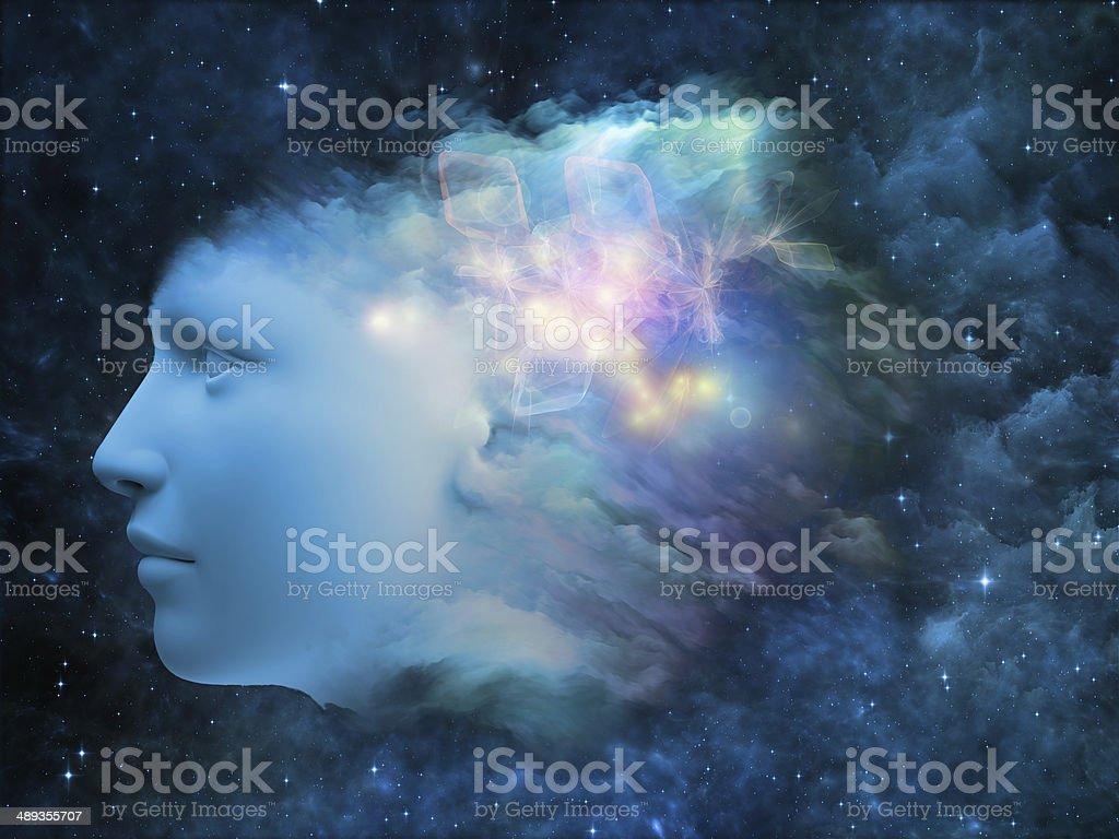 Mind Metaphor stock photo