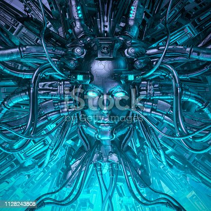 istock Mind of the machine 1128243808