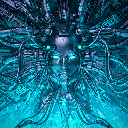 istock Mind of the machine 1128243808