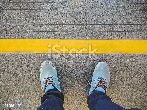 Human Foot, Commuter, Danger, Subway Train