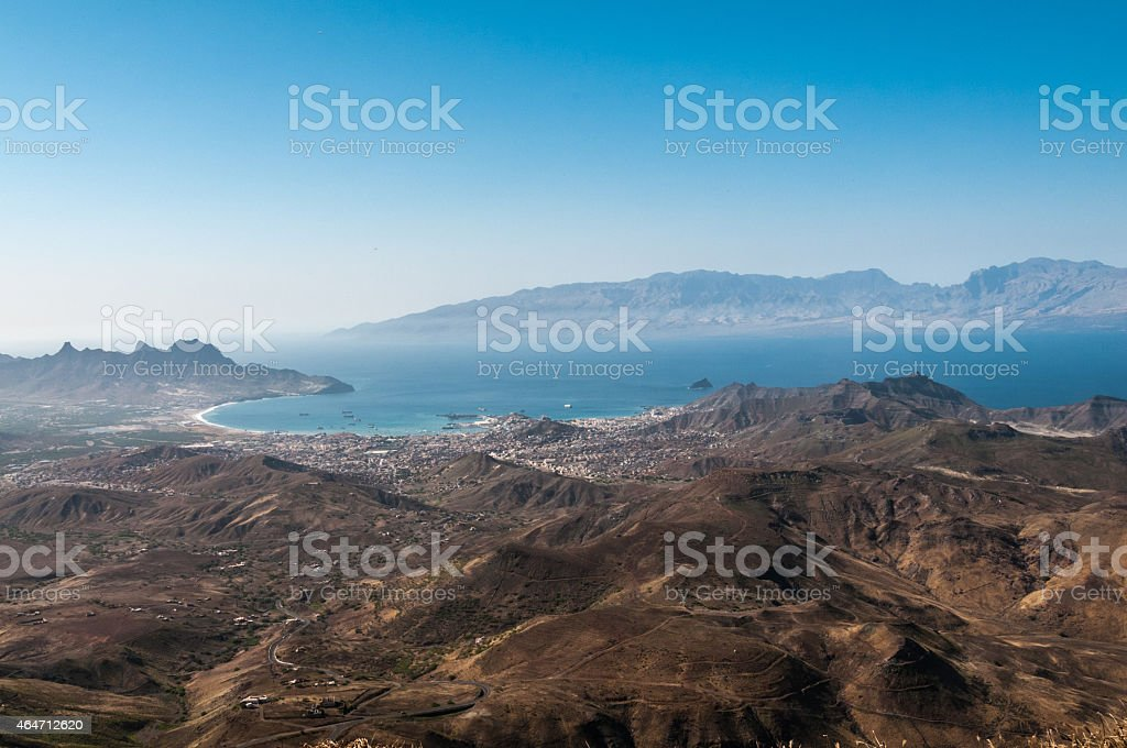 Mindelo stock photo
