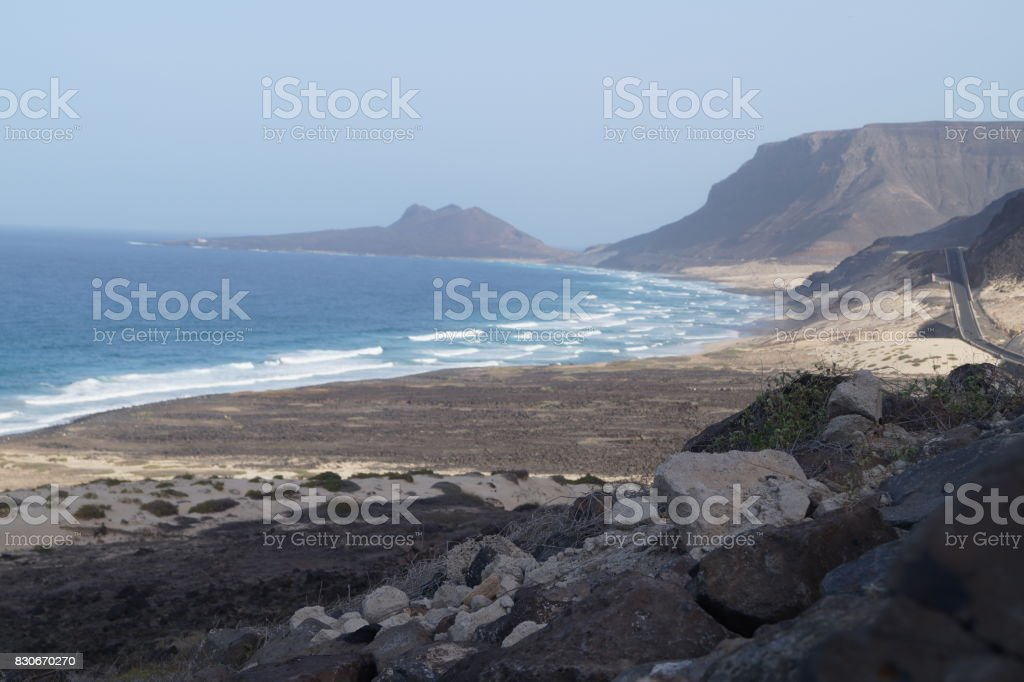 Mindelo - Sao Vicente - Kapverdische Inseln stock photo