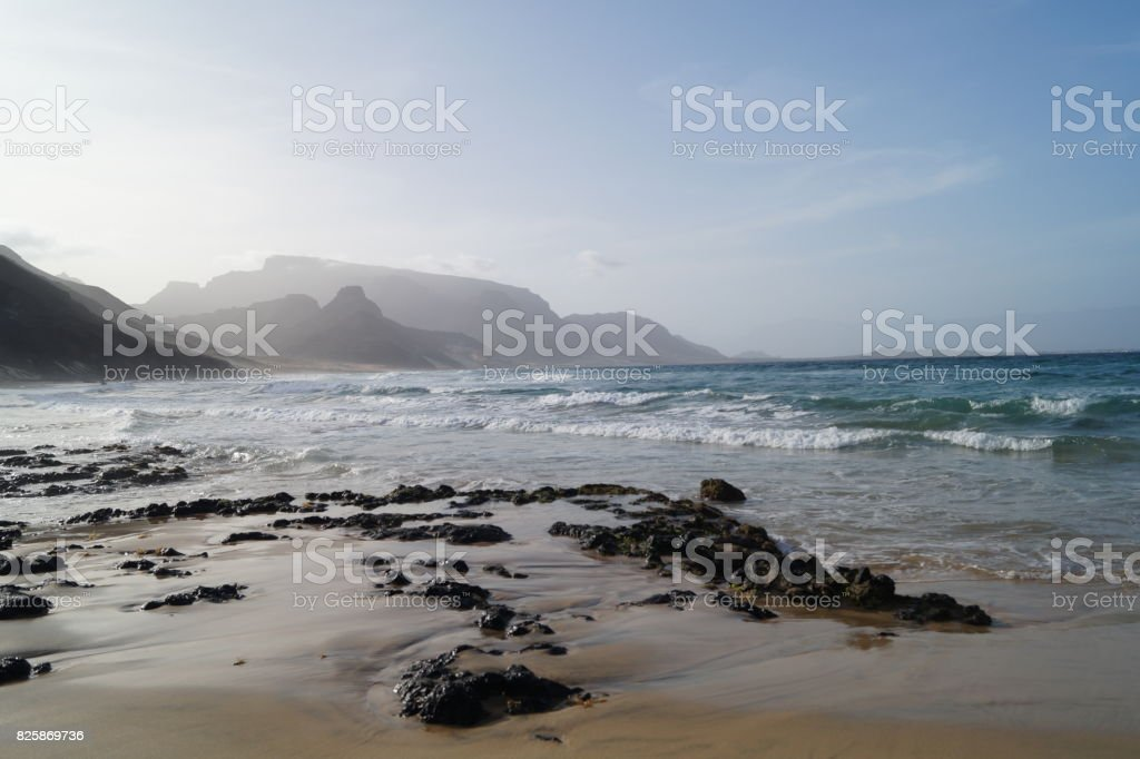 Mindelo - Sao Vicente stock photo