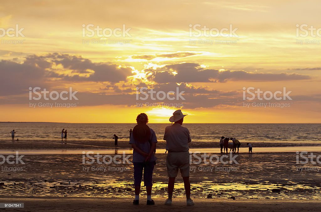 Mindil Beach, Darwin stock photo