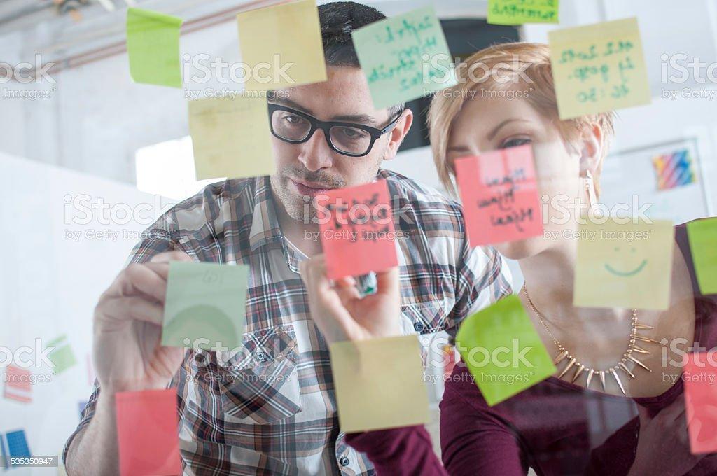 Mindmap of Ideas stock photo