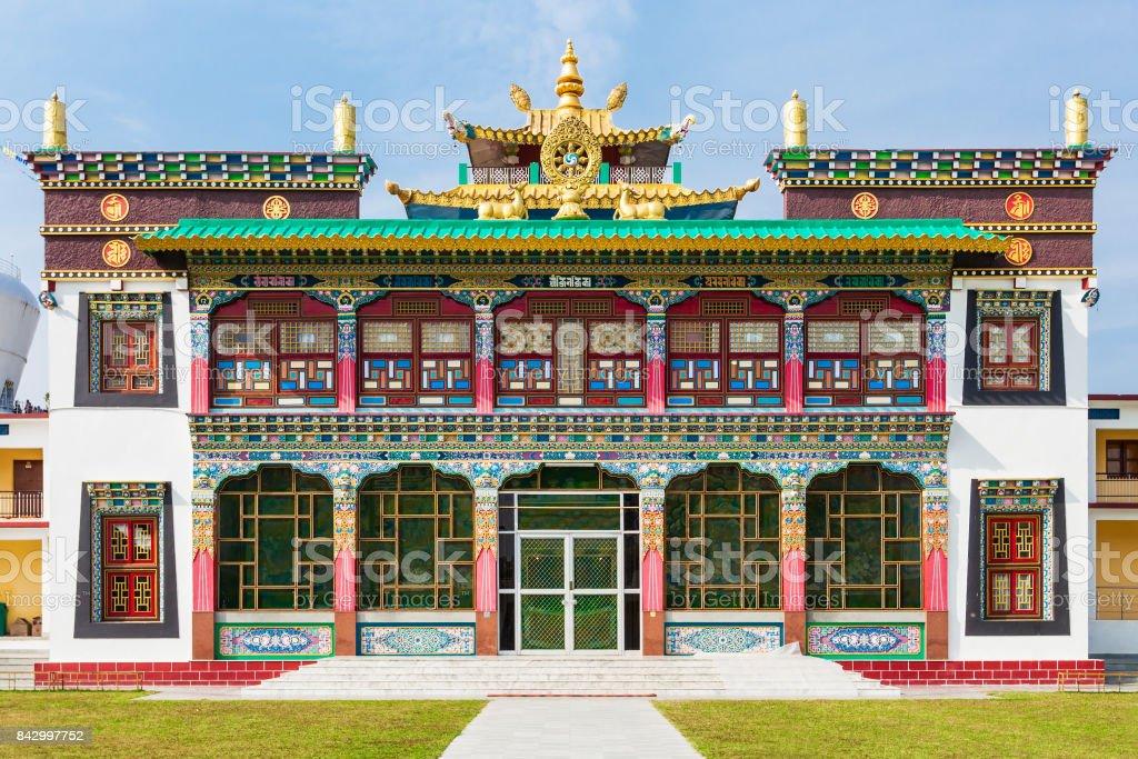 Mindrolling Monastery, Dehradun stock photo