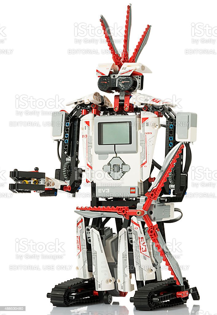 Lego Mindstorms Ev3 With Reflection Stock Photo & More Pictures of ...