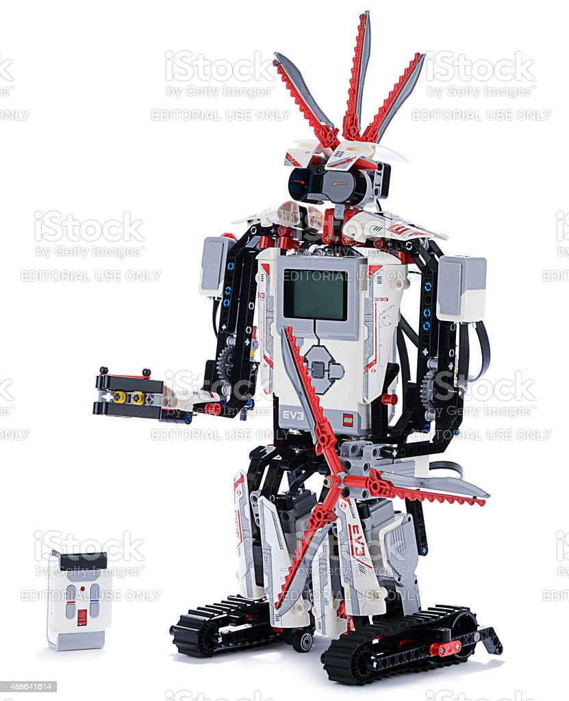 Lego Mindstorms Ev3 With Remote Control Stock Photo - Download Image