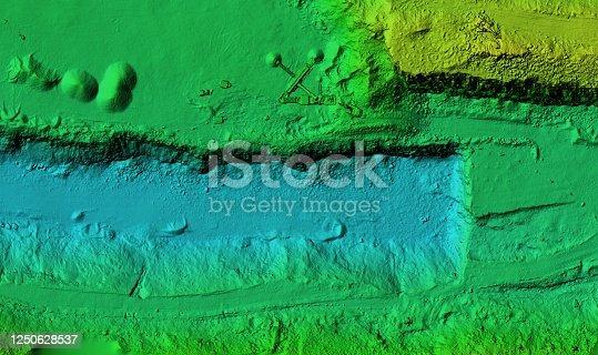 istock Mine area and aggregate storage 1250628537