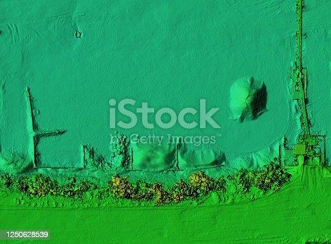 istock Mine area and aggregate storage 1250628539