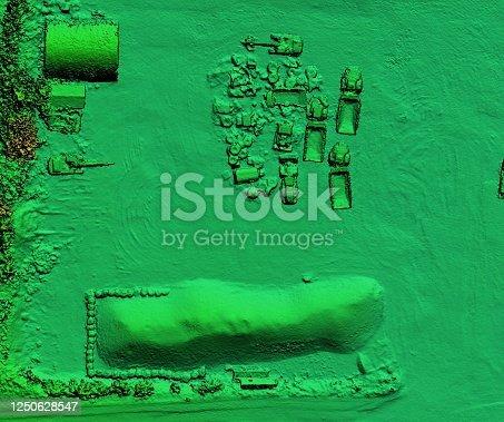 istock Mine area and aggregate storage 1250628547
