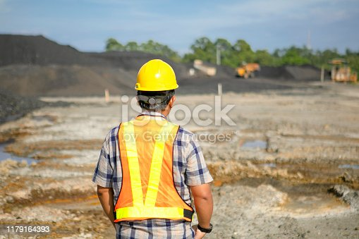 coal mining inspector supervise the coal mine progress