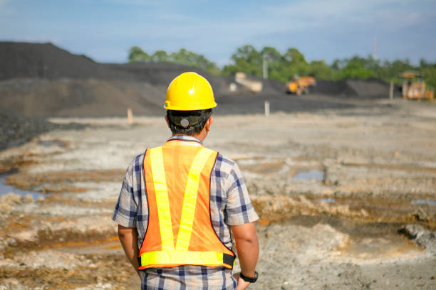inżynier kopalni - geologia zdjęcia i obrazy z banku zdjęć